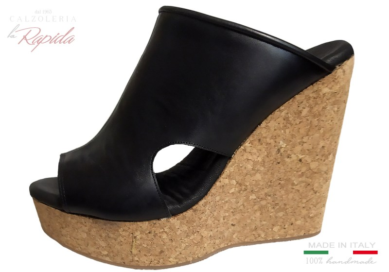 Zeppe Donna Alte in Sughero Women's Wedge Shoes