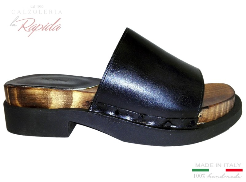 Clogs with leather Sabot Uomo Estate 2020