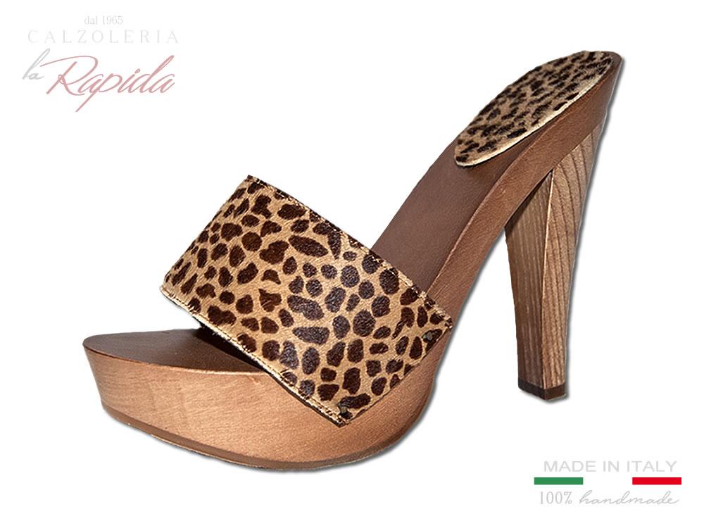 Estate Leopardati Donna Legno Zoccoli Alto In 2ye9bhwedi Sexytacco nmw80Nv